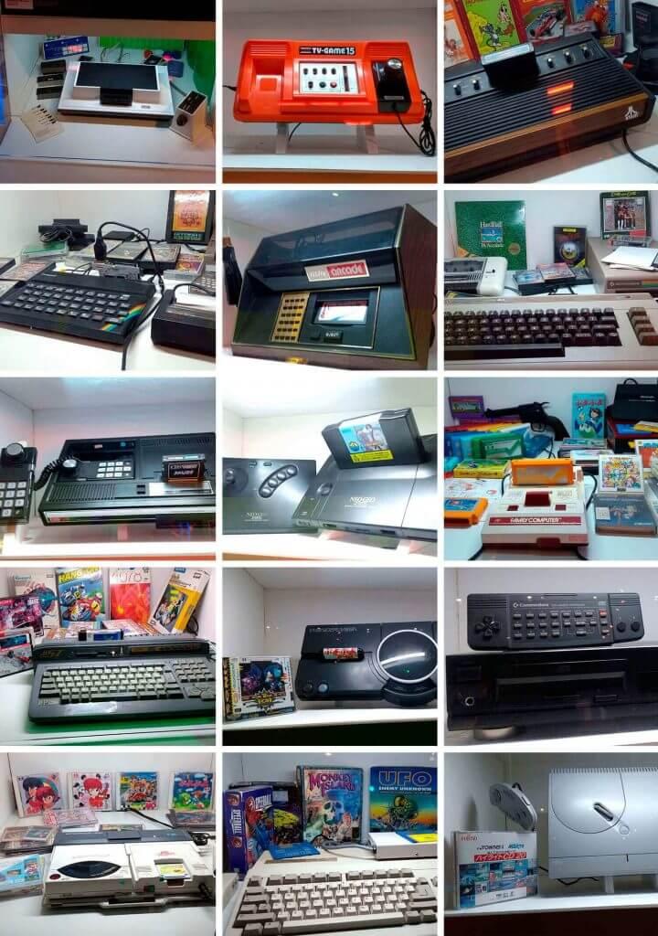 Alguns consoles - A Era dos Games