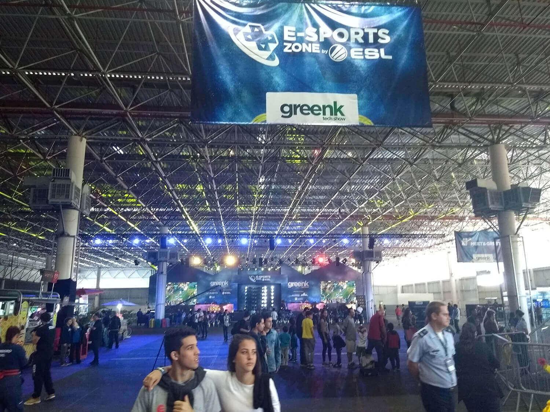 E-Sports Zone - Greenk 2018
