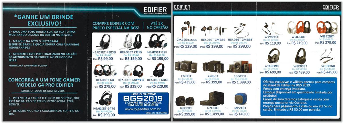 Edifier - BGS 2019