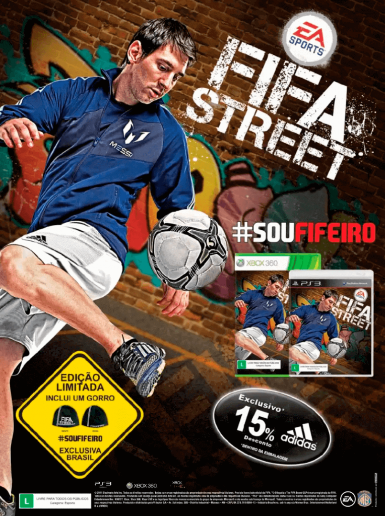 Fifa Street - Revista FIFA Street