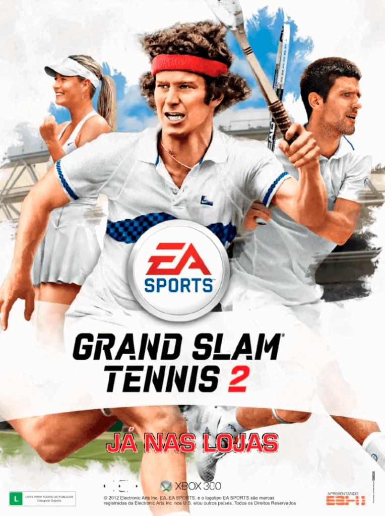 Grand Slam Tennis 2 - Revista FIFA Street