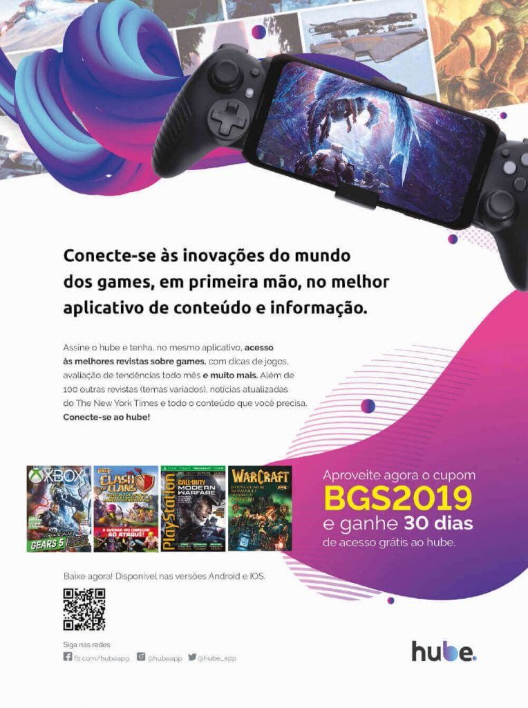 Hube - Guia Oficial BGS 2019