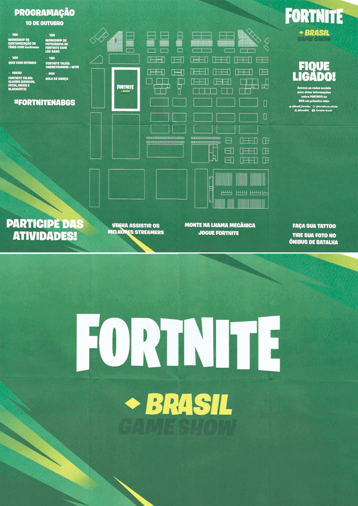 Mapa Fortnite - BGS 2019