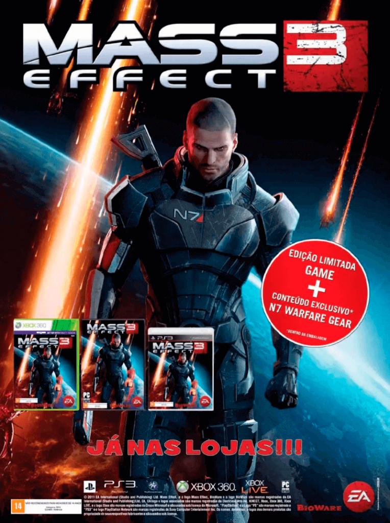 Mass Effect 3 - Revista FIFA Street
