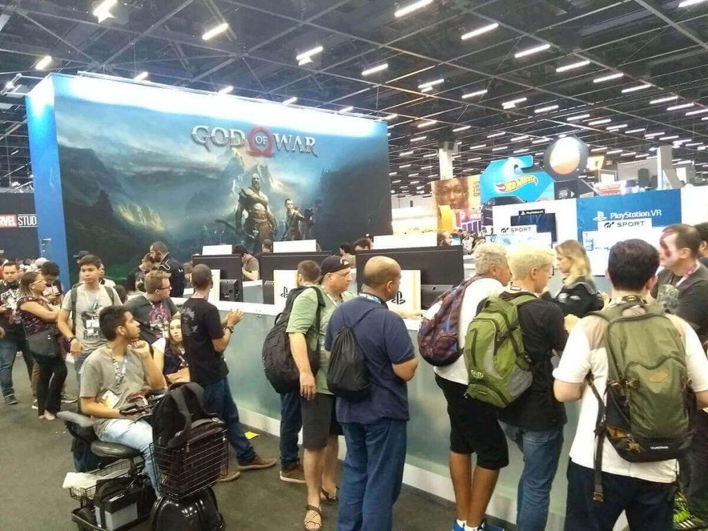PlayStation (Demos) - CCXP 2017