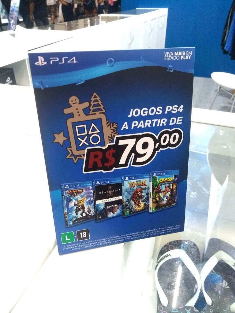PlayStation (Display de Mesa) - CCXP 2017
