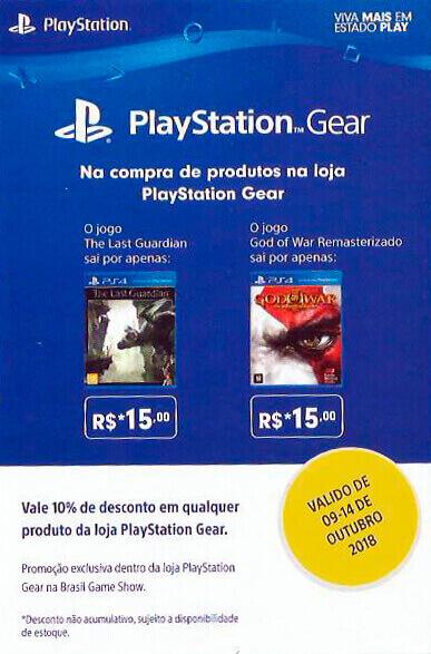 PlayStation Gear 2018