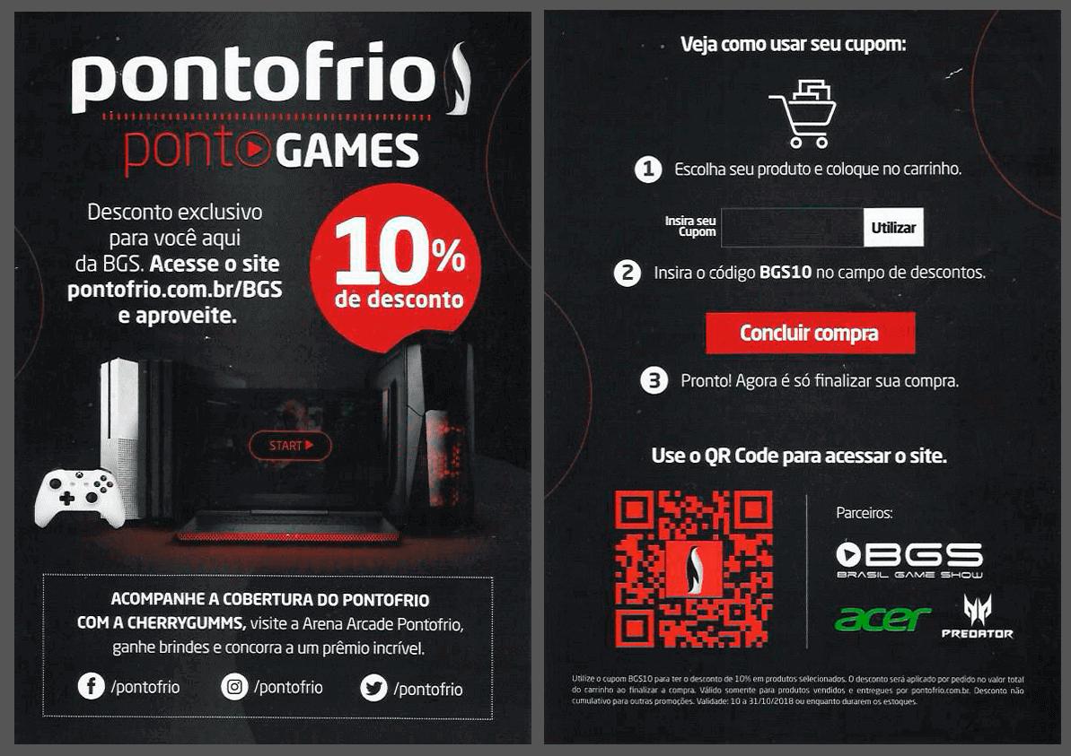 Pontofrio Games