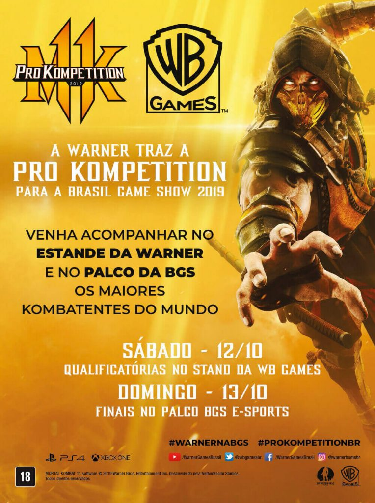 Pro Kompetition - Guia Oficial BGS 2019