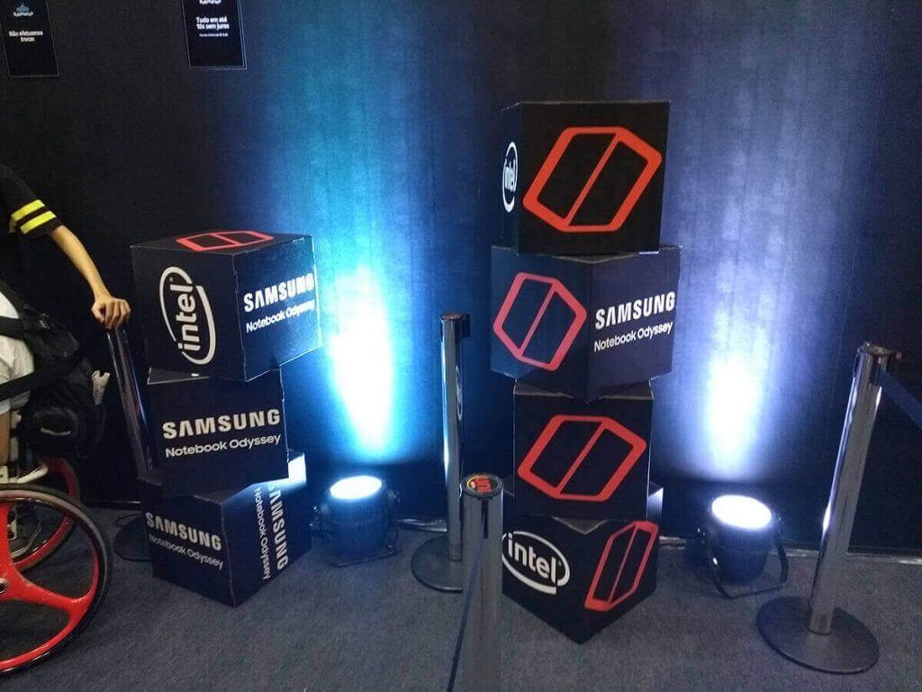 Samsung Notebook Odyssey - CCXP 2017