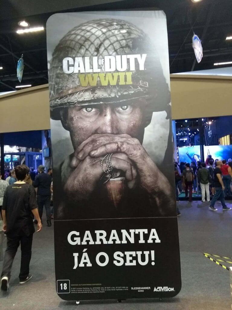 Saraiva (Call of Duty) - CCXP 2017