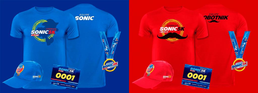 Kits da Corrida Sonic 5K