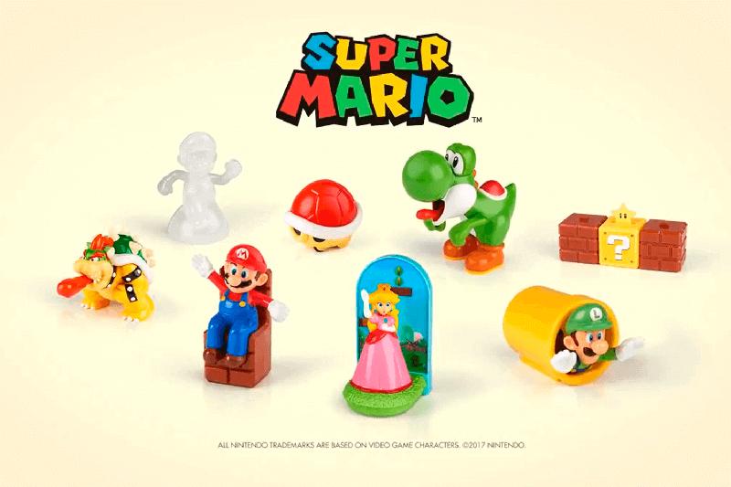 Brinquedos Super Mario McDonalds 2017