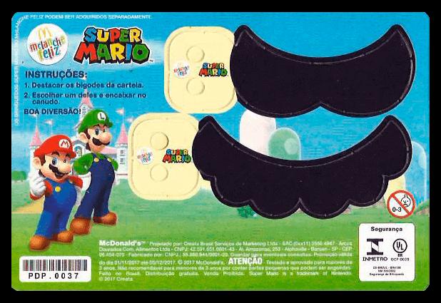 Bigode Canudo Mario