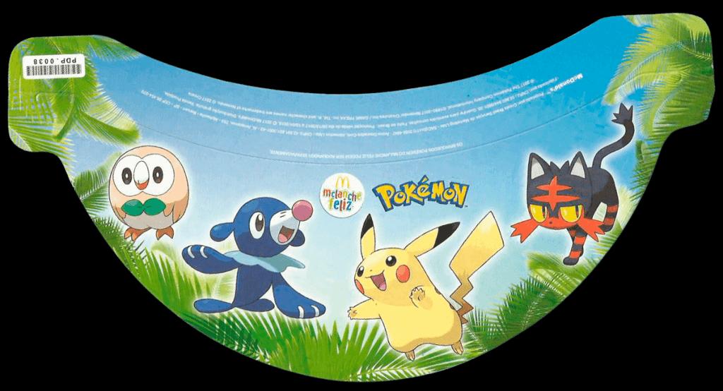 Viseira Pokémon