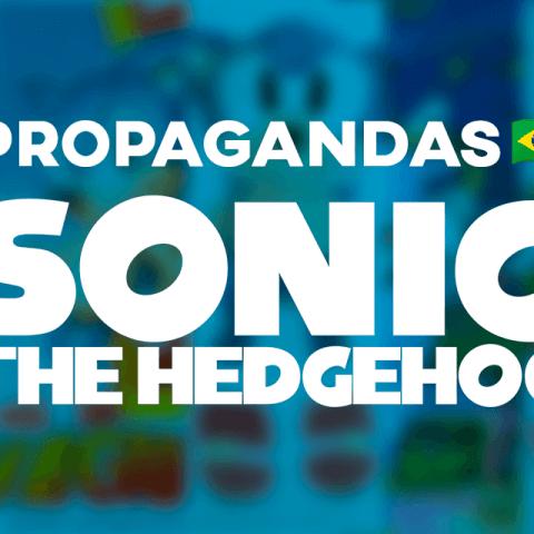 Propagandas do Sonic